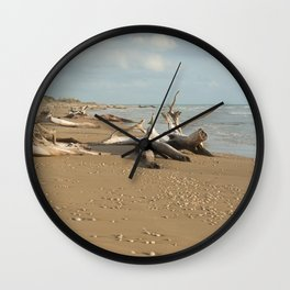 Natural reserve, south of Sicily Wall Clock
