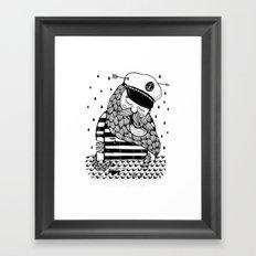Amour éternel. Framed Art Print