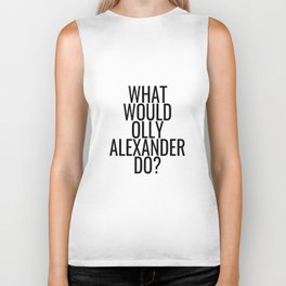 What Would Olly Alexander Do? Biker Tank