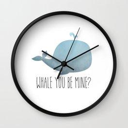 Whale You Be Mine? Wall Clock