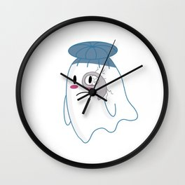 Little Ghost Opera Wall Clock