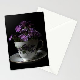 Botanical Tea Cup Stationery Cards