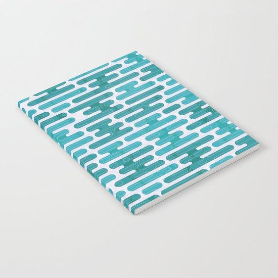 Modern japanese pattern. Notebook