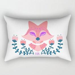 Scandi Fox Rectangular Pillow