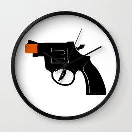 Cap Gun Wall Clock