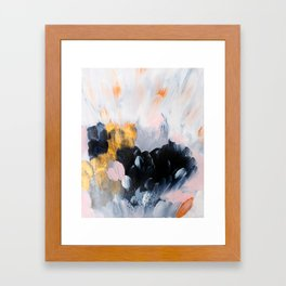 formation: bliss Framed Art Print