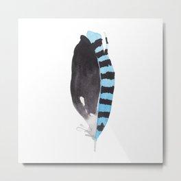 Feather III Metal Print
