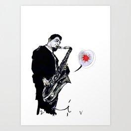 sonny rollins Art Print