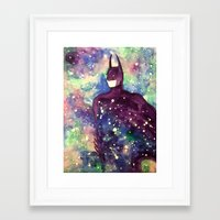 bat Framed Art Prints featuring bat by Beth Jorgensen
