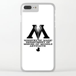Muggle Artifacts Clear iPhone Case