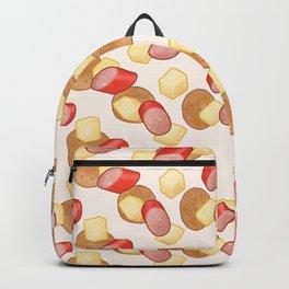 Cheese, Kabana and Jatz Feast in Cream Backpack