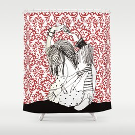 It takes two to tango! Shower Curtain