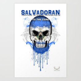 To The Core Collection: El Salvador Art Print