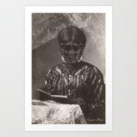 Dark Victorian Portraits: Matron Arachne Art Print
