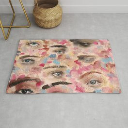 Eyes and dimentions Rug