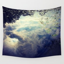 Reflection and water Wall Tapestry