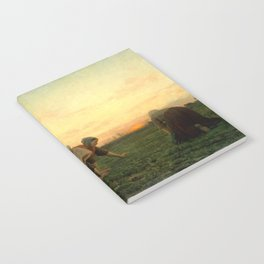 Jules Breton - The Weeders Notebook