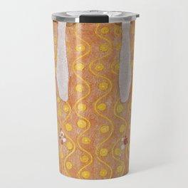 Beethoven Frieze by Gustav Klimt Travel Mug