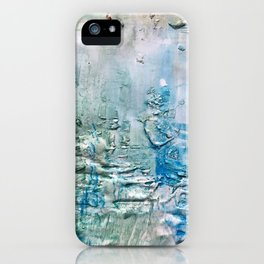 Textured Waves iPhone Case