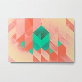 Modern Geometric 878 Metal Print