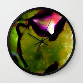 Abstract Bliss 2D by Kathy Morton Stanion Wall Clock