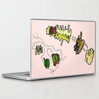 basquiat Laptop & iPad Skins featuring Basquiat Netflix by alexSHARKE