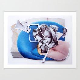 lollipop  | Collage Art Print