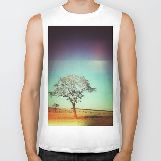 Light Tree Biker Tank