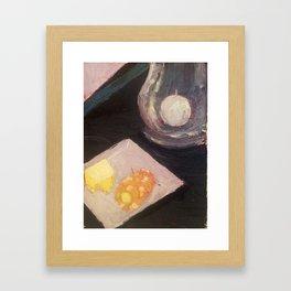 Buttered Corn Framed Art Print