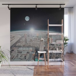Tranquility Base Hotel & Casino Wall Mural
