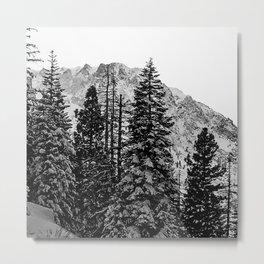 June Lake: Carson Peak Metal Print