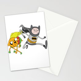 Action Heroes Mashed Up Stationery Cards