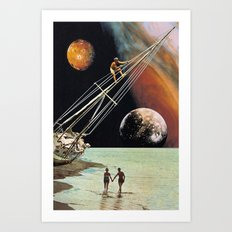 Set Sail for the Stars Art Print