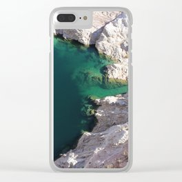 Hoover Dam - Lake Mead Clear iPhone Case