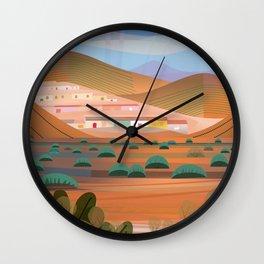 La Choya Wall Clock