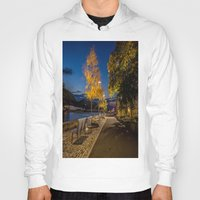 pittsburgh Hoodies featuring PITTSBURGH FALL by Stephanie Bosworth