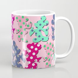 Mickey and Minnie pattern Coffee Mug