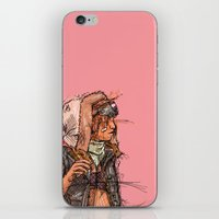 tank girl iPhone & iPod Skins featuring Tank Girl by Joe carver