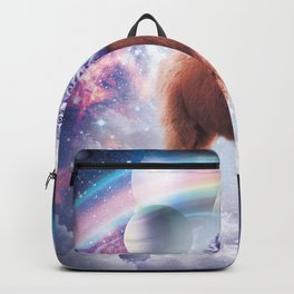 Rainbow Llama - Cat Llama Backpack