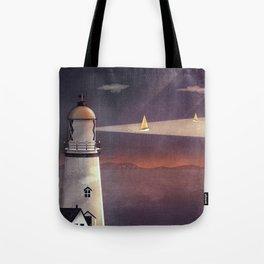 Sea of Light Tote Bag