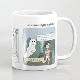Attachment Styles as Ghosts Coffee Mug