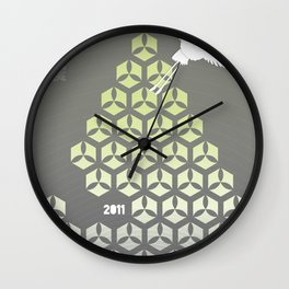 Japan earthquake 2011 no.3 Wall Clock