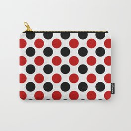 RED BLACK CIRCLE Carry-All Pouch