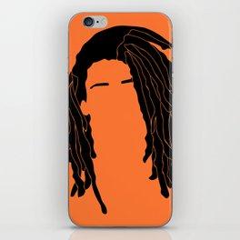light orange iPhone Skin