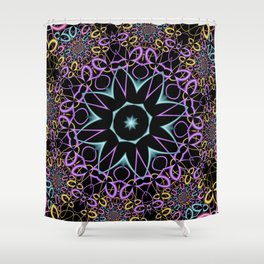 joy and energy -23- Shower Curtain