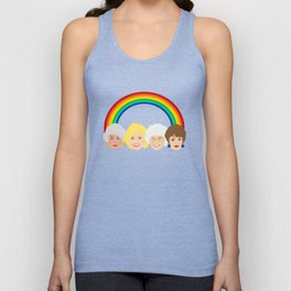 The Golden Girls LGBT Rainbow Pride Unisex Tanktop