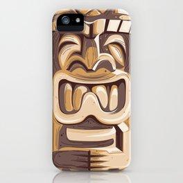 Happy Tiki iPhone Case