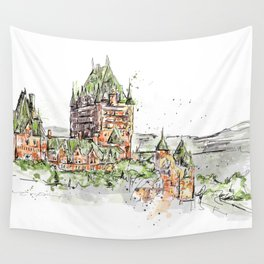 Quebec Wall Tapestry