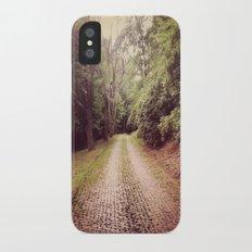 Cemetery Way Slim Case iPhone X