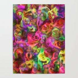 Colour Aquatica - Passion Pink Poster